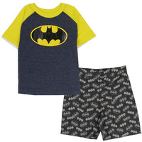 Toddler Boys Batman Short Set