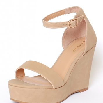 Be My Guide Wedge Natural