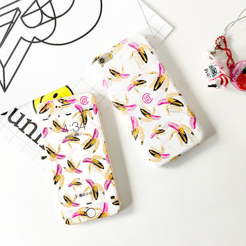 Iphone 6/6s Hot Deal On Sale Cute Stylish Korean Apple Innovative Glass Phone Case [8153013895]