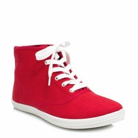 Basic Lace-Up High-Top Sneakers