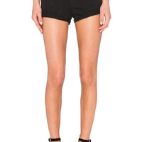 One Teaspoon Harlets Short in Le Black