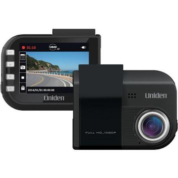 Uniden(R) DC4 DC4 Full HD Dash Cam with Lane Departure Warning