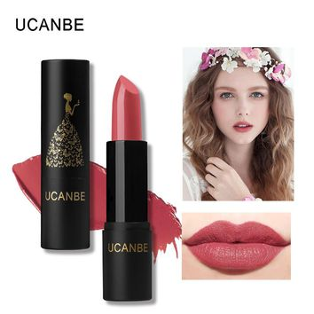 8 Color Moisturizing Smooth Lipsticks Makeup Matte Shimmer Waterproof Long Lasting Lips Stick Gloss Cosmetic long-lasting makeup