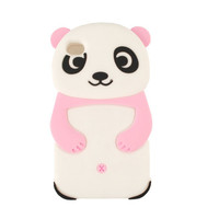 Unlimited Cellular Novelty Case for Apple iPhone 4/4S (Pink/White Panda)