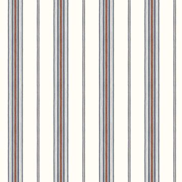 Brewster Wallpaper BBC491010 Camp Blue Cabin Stripe