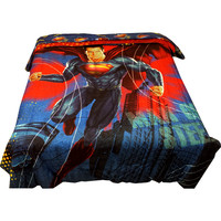 Superman Twin-Full Comforter Super Steel Reversible Bedding