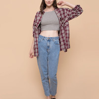 HIGH WAIST MOM JEANS JEANS - WOMAN PULL&BEAR United Kingdom