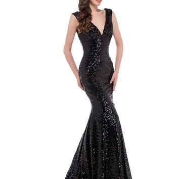 Long Mermaid Prom Dresses