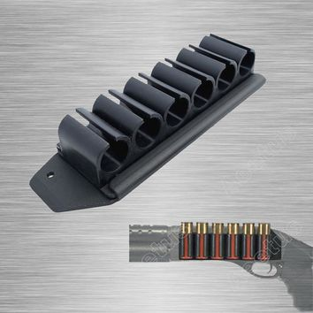 Tactical Sidesaddle Fits Mossberg 500/590 Side Saddle 12 Gauge 6 Round Shot Shell Carrier Kit For MOSSBERG 500,590
