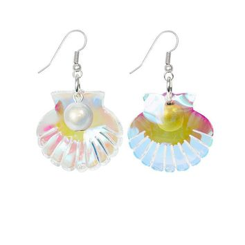 Scallop Shell Earrings by Tatty Devine