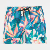 HURLEY Beach Cruiser Volley Mens Boardshorts | Elastic Waist Shorts