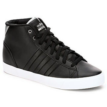 adidas Daily QT Mid Women's Sneaker (BLACK)