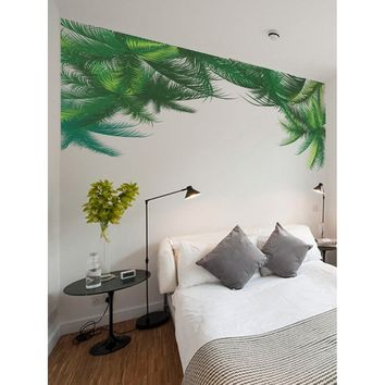Palm Leaf Wall Sticker