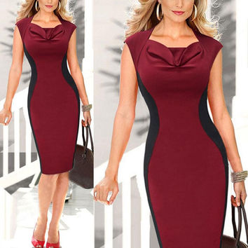 Emily Knee length Pencil Dresses