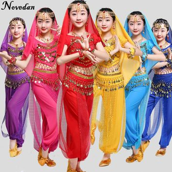 Kids Child Belly Dance Costume Oriental Dance Costumes Belly Dance Dancer Clothes Bollywood Indian Dance Costumes For Kids Girls