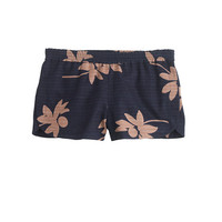 PRE-ORDER PULL-ON SHORT IN FALLING FLOWERS