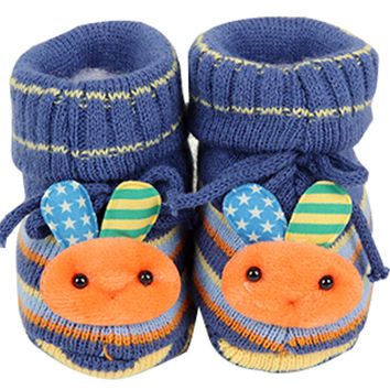 Baby Autumn Winter Cartoon Bootie Baby Shoes Toddler Shoes F
