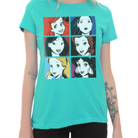 Disney Six Princesses Girls T-Shirt