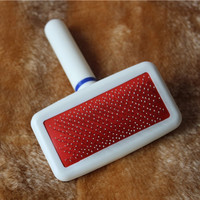 Red Puppy Cat Dog Grooming Multifunction Practical Needle Comb for Dog Cat Tool Brush Pet Supplies
