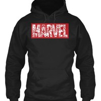 Marvel Logo Cartoon Heroes T Shirt