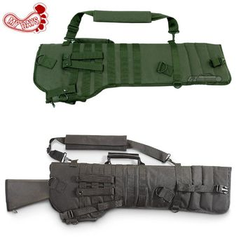 MY DAYS Tactical Rifle Scabbard army green black military holster Assault Shotgun Rifle Hunting Bag long gun Protection carrier