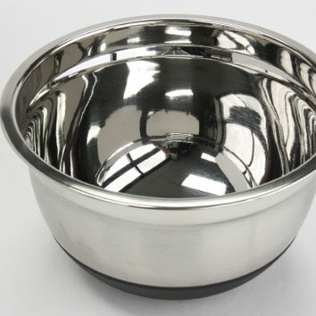 3 qt. stainless steel mixing bowl Case of 6