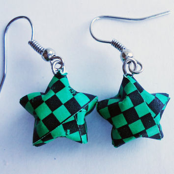 Star EARRINGS  CHOOSE your COLOR by FrozenNote on Etsy