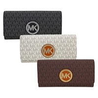 Michael Kors Fulton Carryall Wallet - Choose color