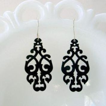 West Earrings by Isette on Etsy