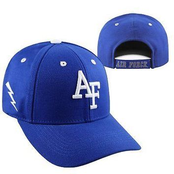 Licensed Air Force Falcons NCAA Adjustable Triple Threat Hat Cap Top of the World KO_19_1