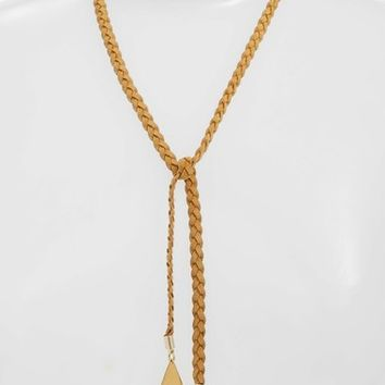 Vanessa Mooney Braided Wrap Necklace | Nordstrom