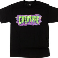 Creature Detox Tee Small Black
