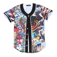 Japanese Anime Jersey