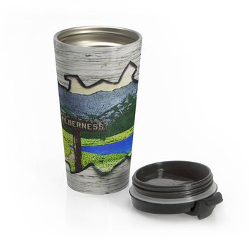 Wilderness Coffee Cup - Stainless Steel Travel Mug