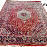 A Superb Decorative Persian Bidjar Design Rug