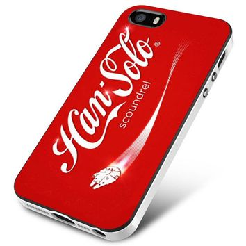 COCA COLA STAR WARS HAN SOLO iPhone 5 | 5S | 5SE Case Planetscase.com