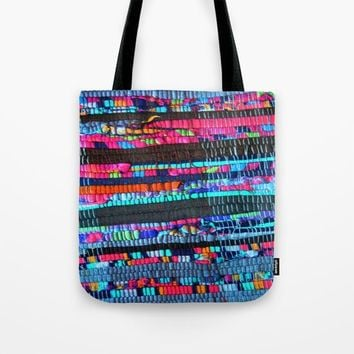 Colorful and Playfully Tote Bag by Azima