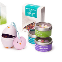Easter Gift Basket - Three Tea-Filled Easter Eggs, Three Tins Of Sweets And 100 Filters | DAVIDsTEA