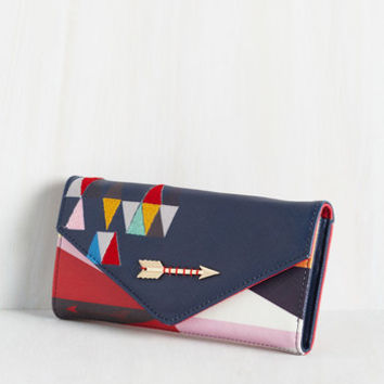 Statement Personal Style Pep Talk Wallet by Disaster Designs from ModCloth