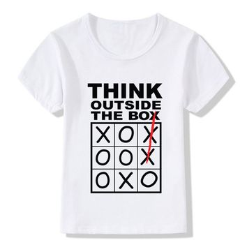 Think Outside The Box Children Tee