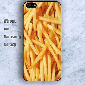 dream French fries iPhone 5/5S Ipod touch Silicone Rubber Case Phone cover Waterproof
