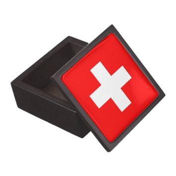 Switzerland Flag Premium Gift Box