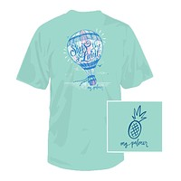 Sky's the Limit Tee in Celadon by Southern Fried Cotton
