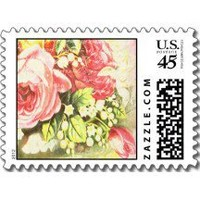 Shabby Rose Stamp