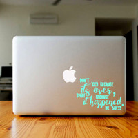 "FREE SHIPPING! - 4"" create your own quote decal 