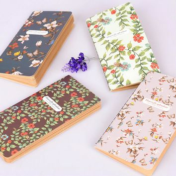 Diary Weekly Agenda Planner Notebook Cute Floral Flower Schedule Book School Office Supplies Travel Journal Stationery