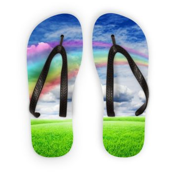 Best Rainbow Flip Flops Products on Wanelo 312b3af0c