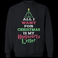 Hogwarts Letter For Christmas T-Shirt