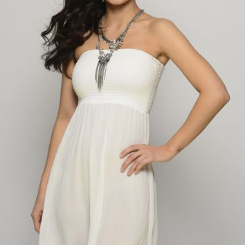 Whimsical Beauty White Dress