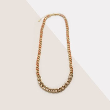 Chunky Gold Necklace, Chunky Chain Necklace, Large Gold Chain